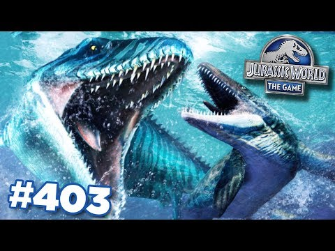 *NEW* Aquatic Hybrid!!! | Jurassic World - The Game - Ep403 HD