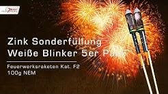 Sonderfüllung Weiße Blinker 5er- Pack Von Zink Feuerwerk