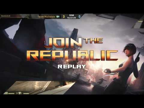 Join The Republic - Playoffs - Team Maikelele vs Team adreN - Game 1