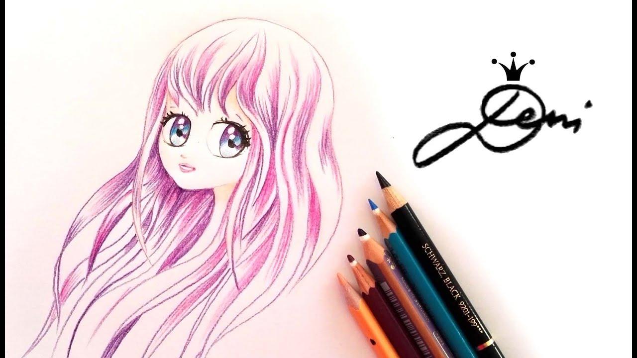 Manga Zeichnen Mein Erstes Anime Gesicht Manga Face Drawing