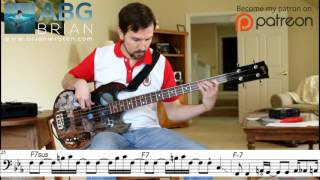Download Marvin Gaye - What's Happening Brother (Jamerson) - Bass Transcription MP3 song and Music Video