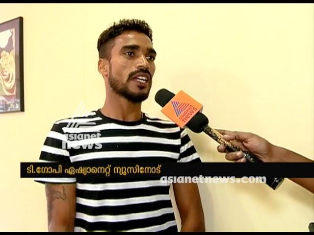 Indian athlete T Gopi about Mumbai Marathon