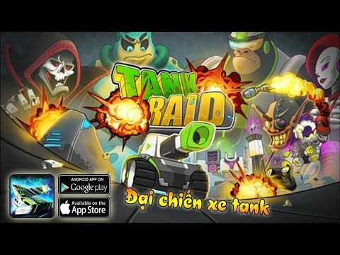 TANK RAID – CUỘC CHIẾN TĂNG TRÊN GALAXY - NEW AND BEST ONLINE 3D MULTIPLAYER GAMES 2017 IOS/ANDROID