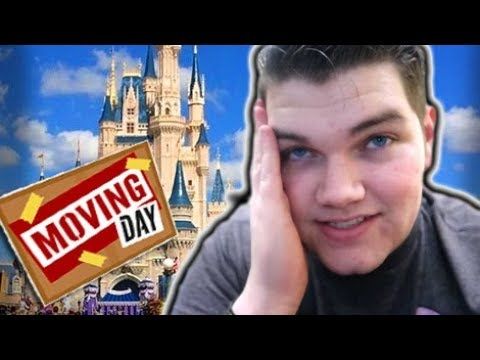 Moving to DISNEY!!! + Check In Day!! DCP Spring 2018