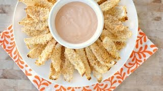 Crispy Baked Onion Petals + Fry Sauce