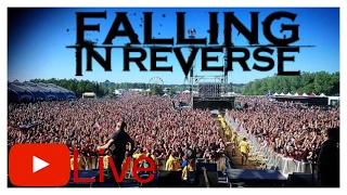 Carolina Rebellion 2017! Falling In Reverse! I'm Not A Vampire Live!