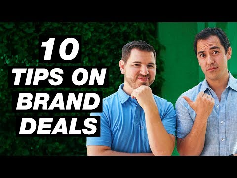 10 Tips for Getting Brand Deals on YouTube and Charging More
