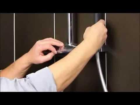 C mo instalar la columna de ducha aparu jacob delafon for Como cambiar los empaques de la regadera