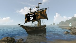 """""""Team"""" using the new ISIS Galleon Ship"""