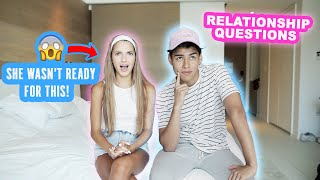 ASKING MY BEST FRIEND, RELATIONSHIP QUESTIONS!! ** FUNNY