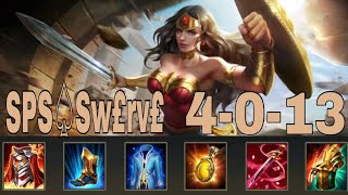 SPS♤Sw£rv£ (SPSegaming Takım oyuncusu) Wonder Woman Game play