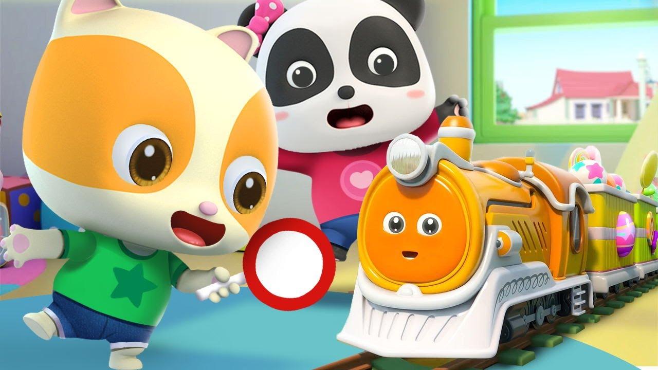 はたらく車☆かもつれっしゃ☆子供向け乗り物知育動画 | 赤ちゃんが喜ぶ歌 | 子供の歌 | 童謡 | アニメ | 動画 | ベビーバス| BabyBus