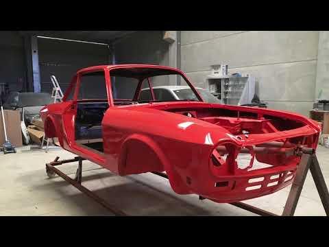 Restoration Lancia fulvia