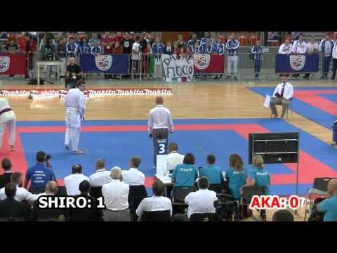 2015 WSKA - Junior Men Team Kumite Final