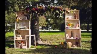 Уютная свадьба в стиле винтаж
