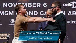 El boxeador mexicano tiene carisma, sí, pero su fuerza y calidad está en sus puños con TNT que tumban las críticas de sus detractores y está a una pelea de ser campeón absoluto de los pesos súper medianos