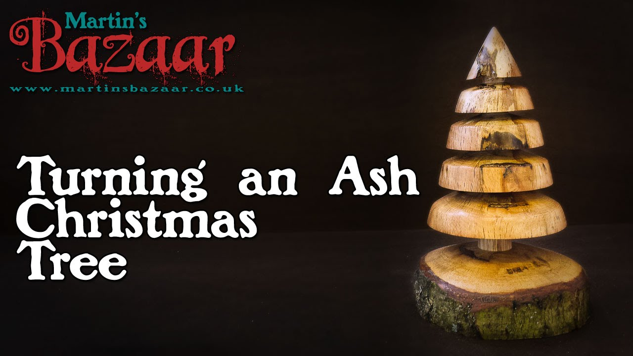 Wood Turning a Christmas Tree - YouTube