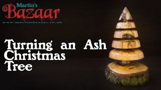 Wood Turning A Christmas Tree