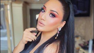 Красивый инста макияж от Гоар Аветисян вечерний макияж яркий макияж Goar Instagram