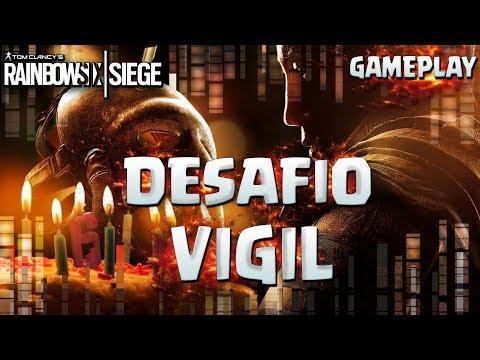 DESAFIO DE ANIVERSARIO VIGIL! - Rainbow Six Siege Gameplay Español