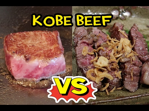 $200 Kobe Beef Steak VS. $20 Kobe Beef Steak!