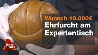 Original WM-Ball von 1954 mit Autogrammen der Weltmeister - Bares für Rares vom 07.02.2019 | ZDF