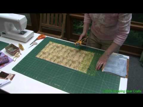 Cut Strips and Squares from a Fat Quarter - YouTube : cutting quilt squares - Adamdwight.com