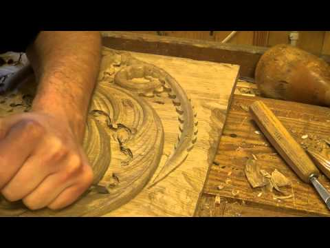 Carving the House Targaryen dragon