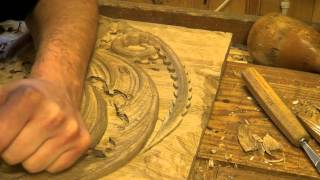 Carving The House Targaryen Dragon