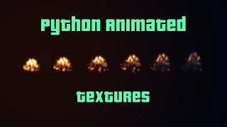 Python-Animierte Texturen