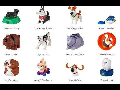 Secret Life Of Pets 2 Mcdonald S May June 2019 Happy Meal