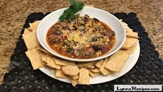 Slow Cooker Taco Soup - Lynn's Recipes