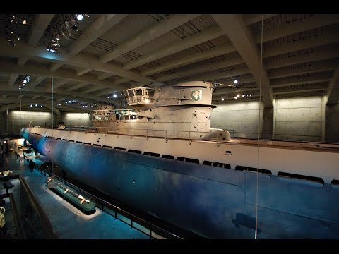 U-505 Submarine / Museum of Science & Industry with History!