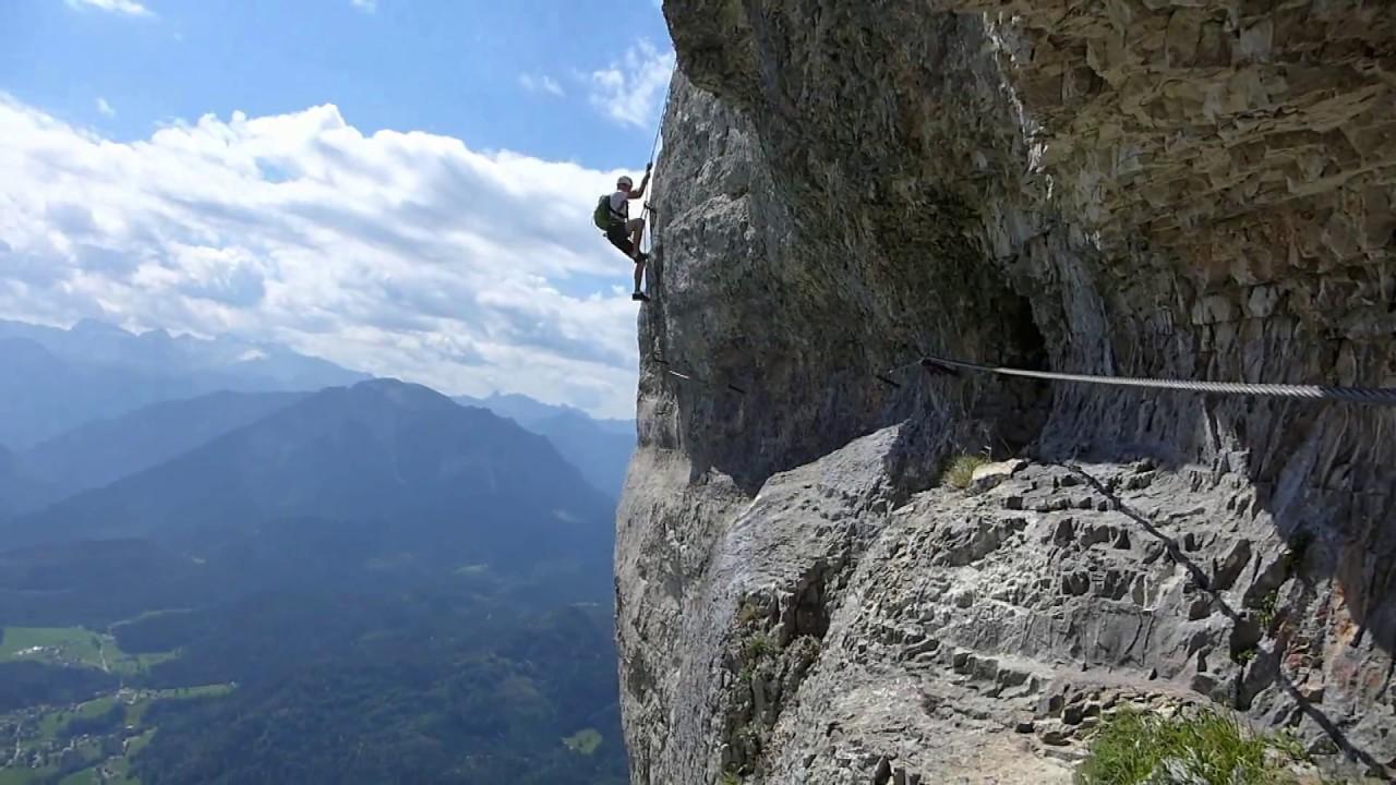 Klettersteig Loser : Loser klettersteig u esissiu c totes gebirge