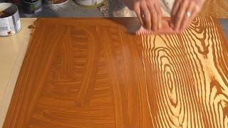 Como pintar imitacion de madera - Inventos Caseros Ingeniosos 2