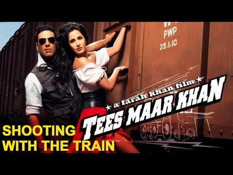 'Tees Maar Khan' Blog: Shooting With The Train