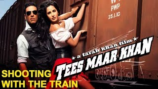 'Tees Maar Khan' Blog: Shooting With The Train