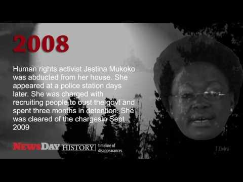 Zimbabwe's timeline of politically motivated disappearances
