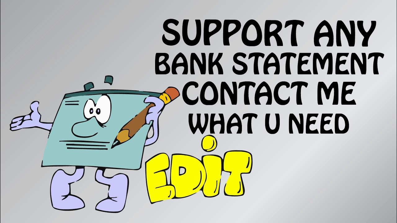 How to create fake bank statement edit | edit fake bank statement online |  pdf online edit services
