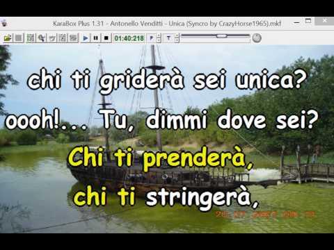 Antonello Venditti - Unica (Cori) (Syncro by CrazyHorse1965) Karabox - Karaoke