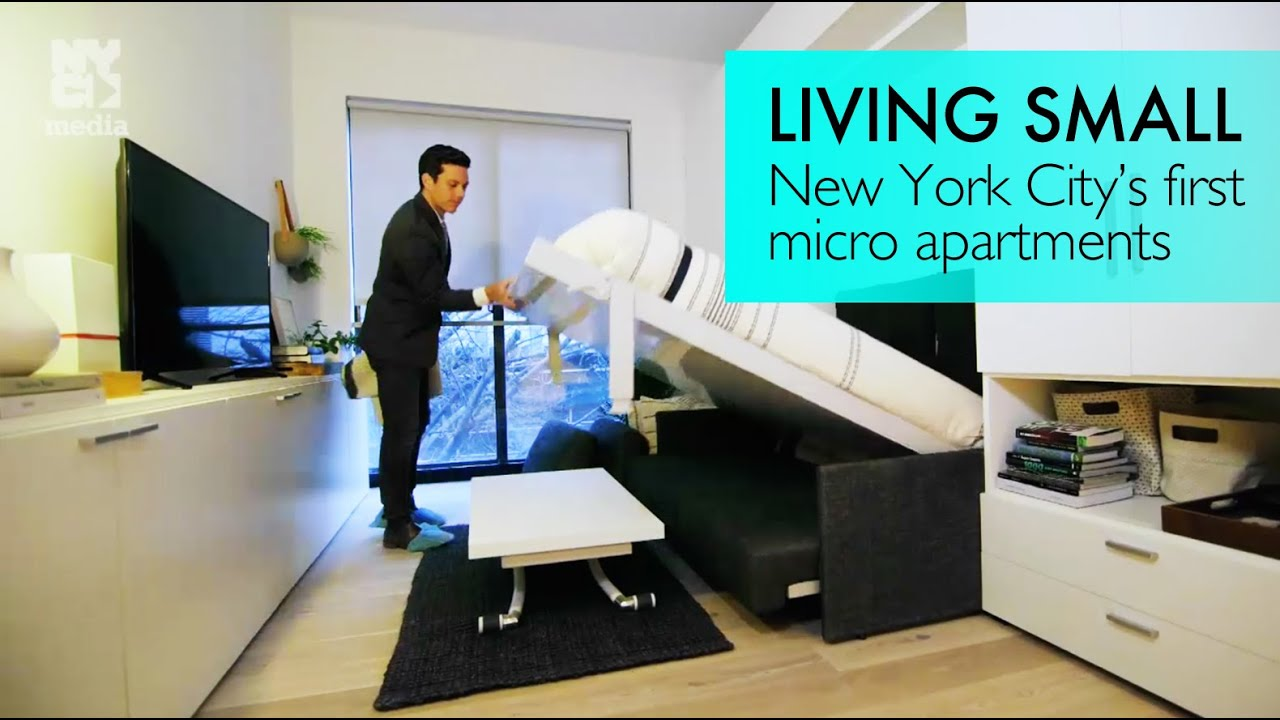 Tiny Living: We get a sneak peek at NYC\'s first \