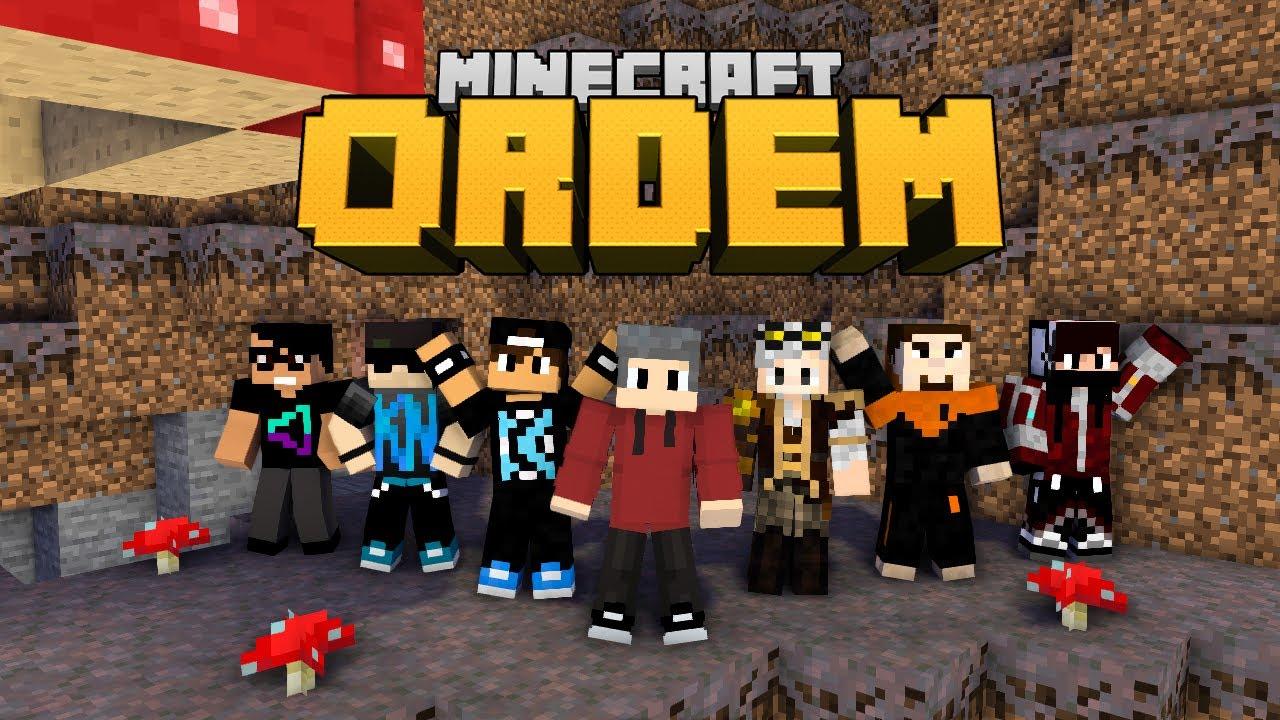 NOVA SÉRIE MULTIPLAYER - Minecraft Ordem #1