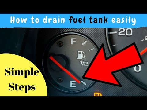 FUEL PUMP : draining your cars fuel tank without siphon || vlog 2