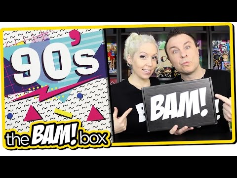 """The BAM! BOX """"90s"""" Unboxing Review (February, 2017 Edition)"""