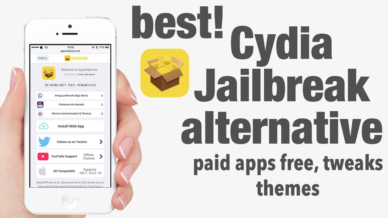 Best Cydia Jailbreak Alternative ! hacked games, tweaks, themes IOS 9 -  9 3 5 - 10