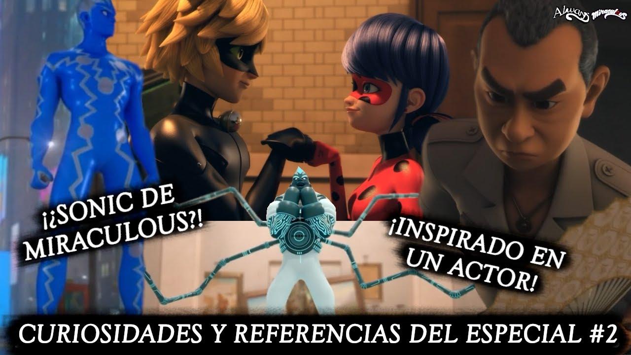 ¡¿SONIC DE MIRACULOUS?! CURIOSIDADES Y REFERENCIAS ESPECIAL NUEVA YORK #2   Miraculous LadyBug   HD