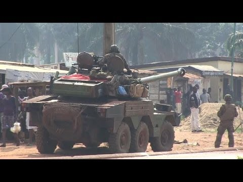 Fresh violence erupts in C. African capital