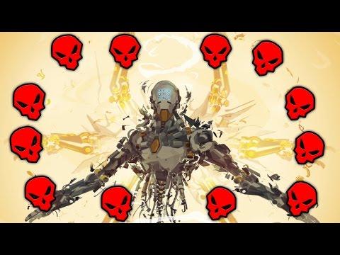 40 BROKEN PLAYS OF THE GAME - Overwatch Montage
