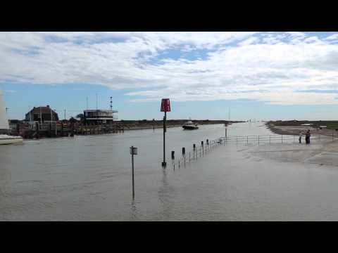 Rye Harbour. Time Lapse.