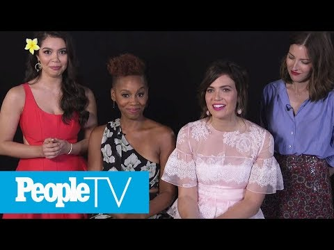 Kids Interview Disney Princesses Including Mandy Moore, Auli'i Cravalho & More | PeopleTV